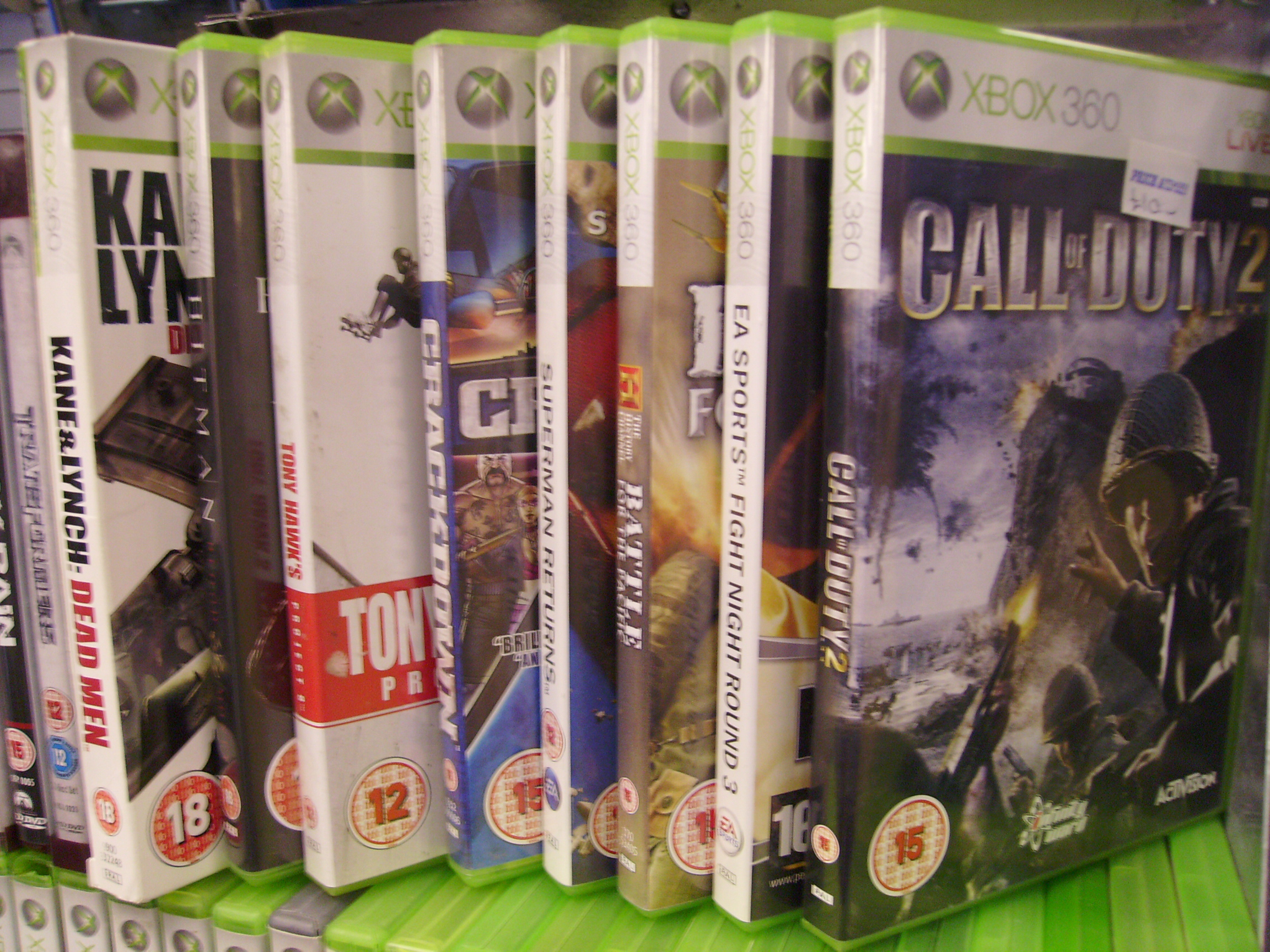 Xbox 360 Games - from £4