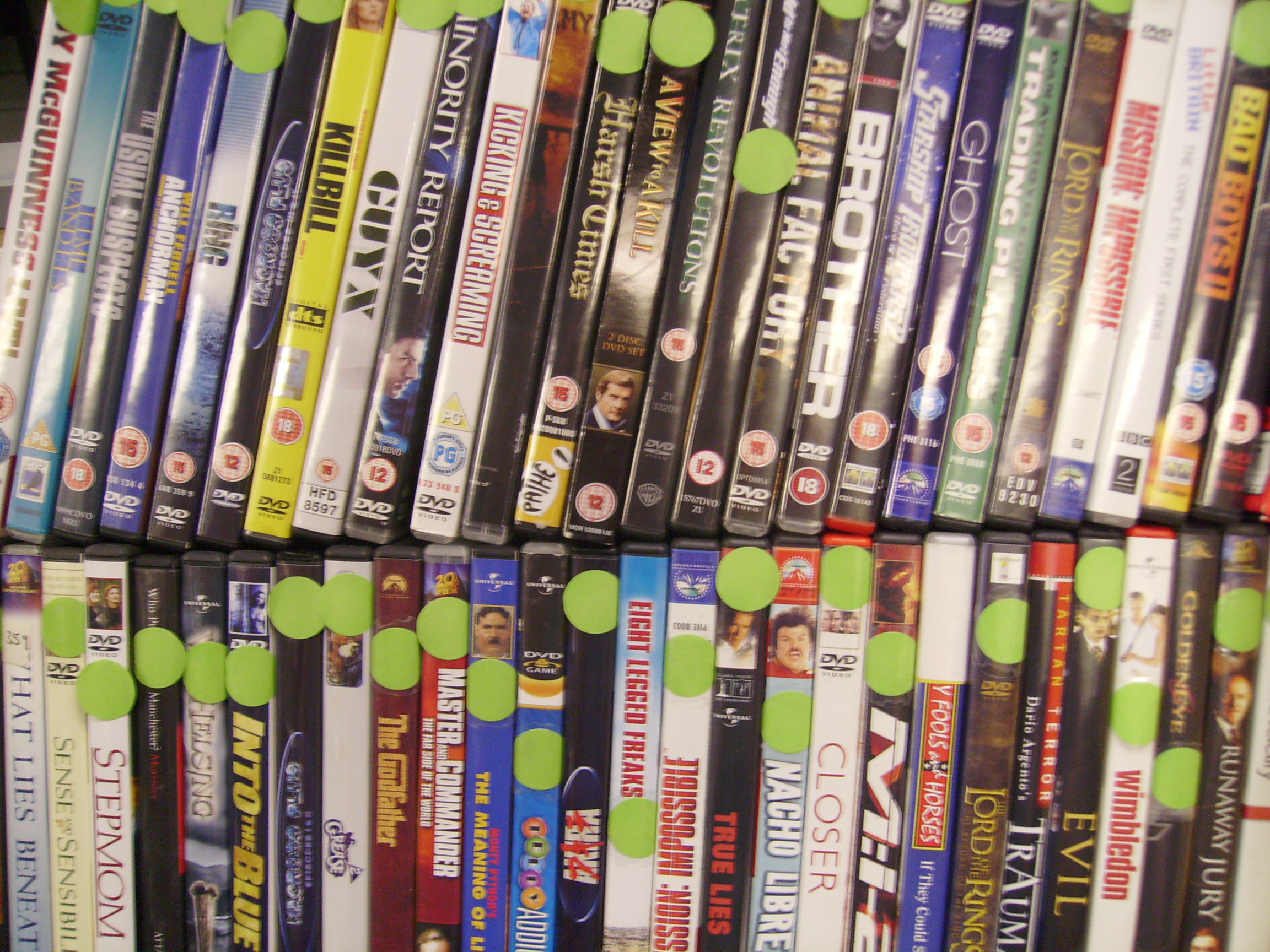 DVDs - from £1    We also stock HD DVD & Blu-Ray