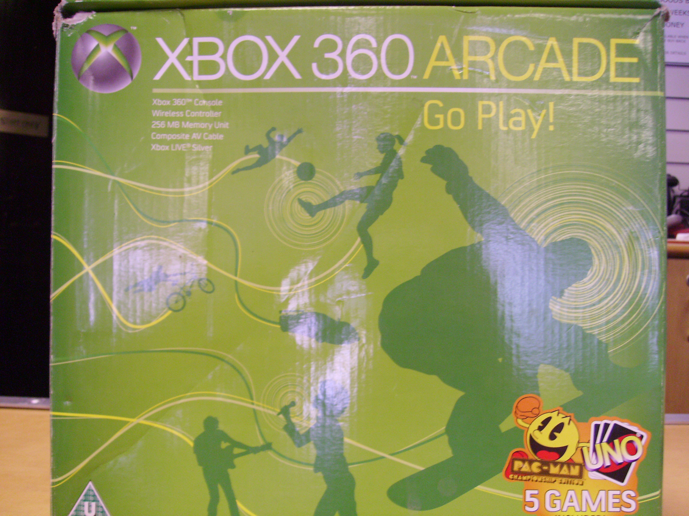 Xbox 360 - packages from £70.   Accesories also available