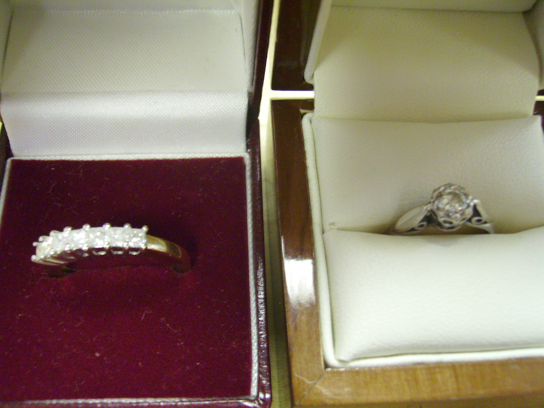 Ladies and Gents Diamond Rings - various styles and sizes, all fully hallmarked and at discount prices